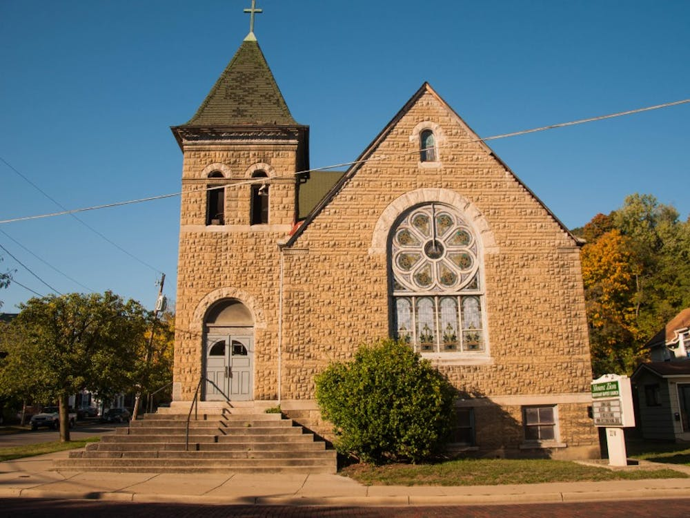 (FILE) Mount Zion Missionary Baptist Church, located on Carpenter Street.
