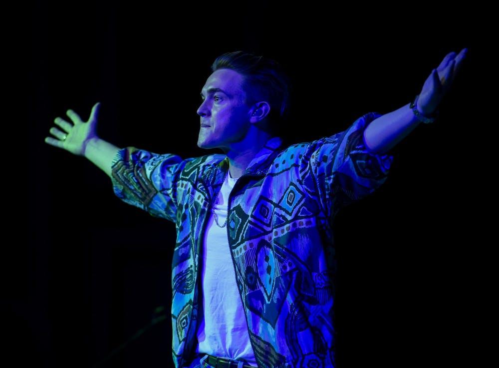 Jesse McCartney electrifies Baker Ballroom during annual TBT concert