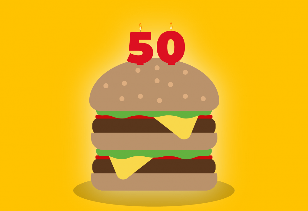 McDonald's to give away free Big Macs for 50th anniversary