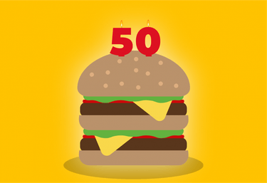 The Big Mac is turning 50, so McDonald's is giving away free burgers to those who get MacCoins.