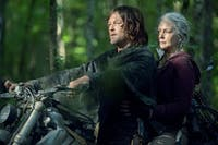Daryl and Carol take a small trip on the season premiere of 'The Walking Dead.' (Photo provided via @TheWalkingDead on Twitter)