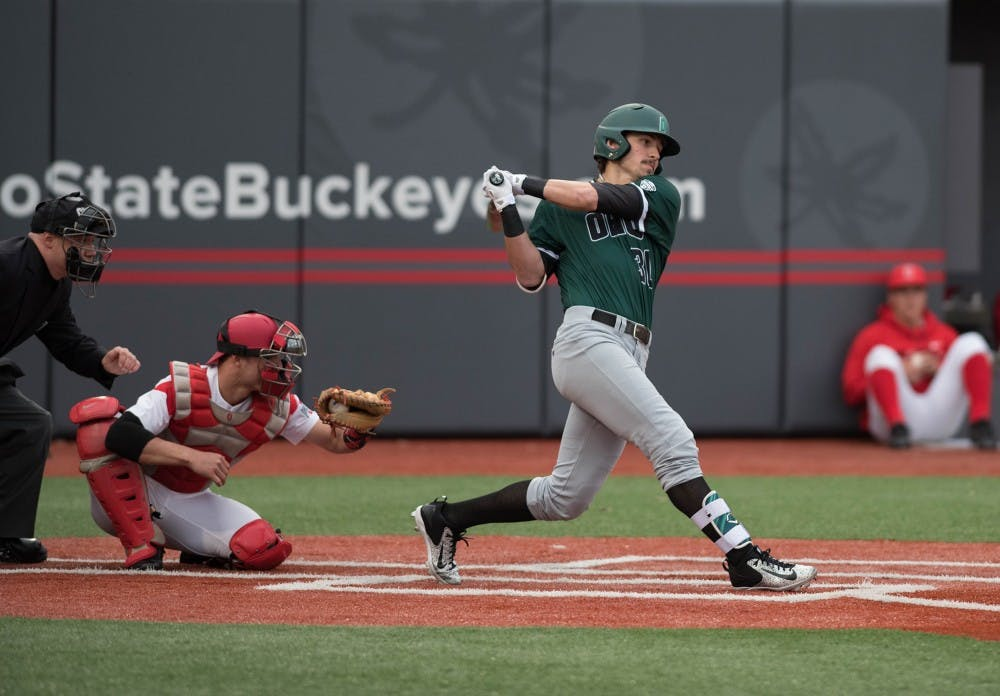 Baseball: Ohio looks to snap out of slump against Eastern Michigan