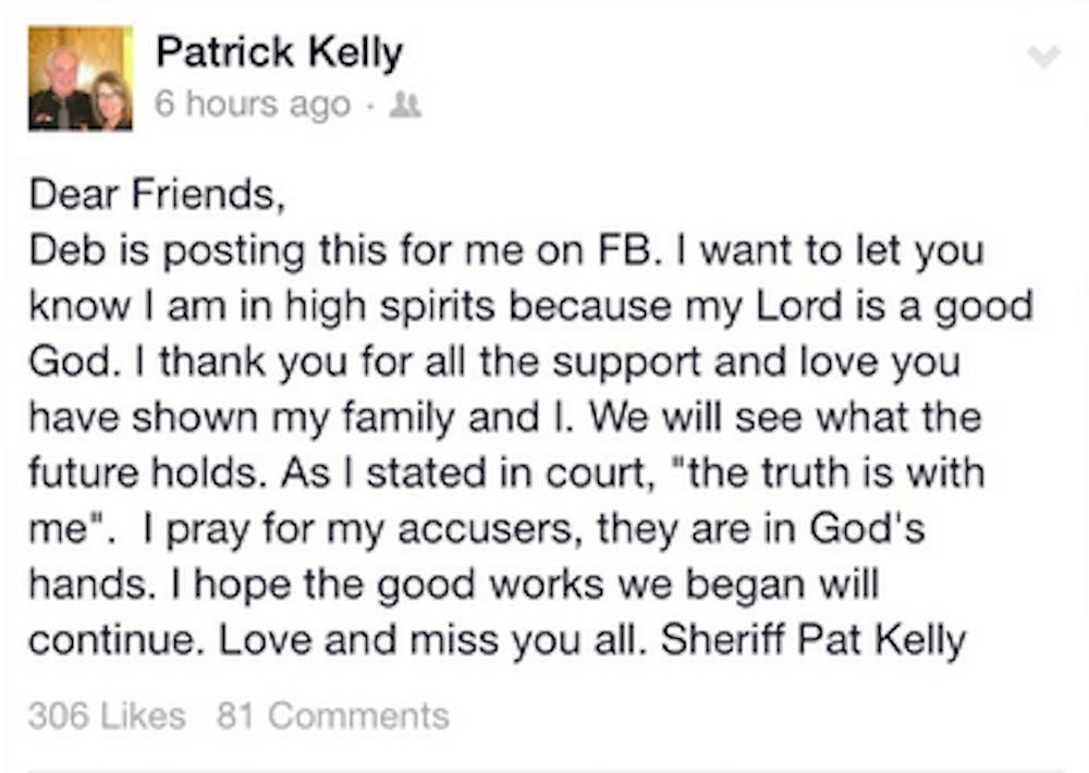 Pat Kelly seeks appeal, suspension of sentence