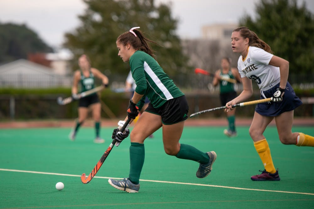 Field Hockey Ohio To Face High Powered Attacks In Final Two Regular