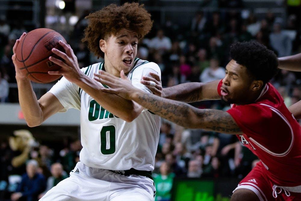 Men's Basketball: Jason Preston's pregame suggestion, triple-double carry Ohio to blowout win over Miami