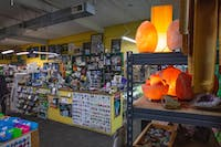 Cool Digs offers interior as well as outside garden rocks, minerals and quartz for gem lovers to check out in the store owned by SaraQuoia off E. State St. in Athens, Ohio.