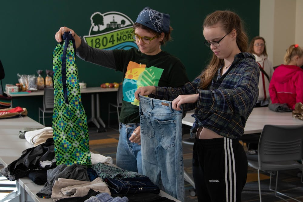 Clothing exchanges promote sustainability in affordable way