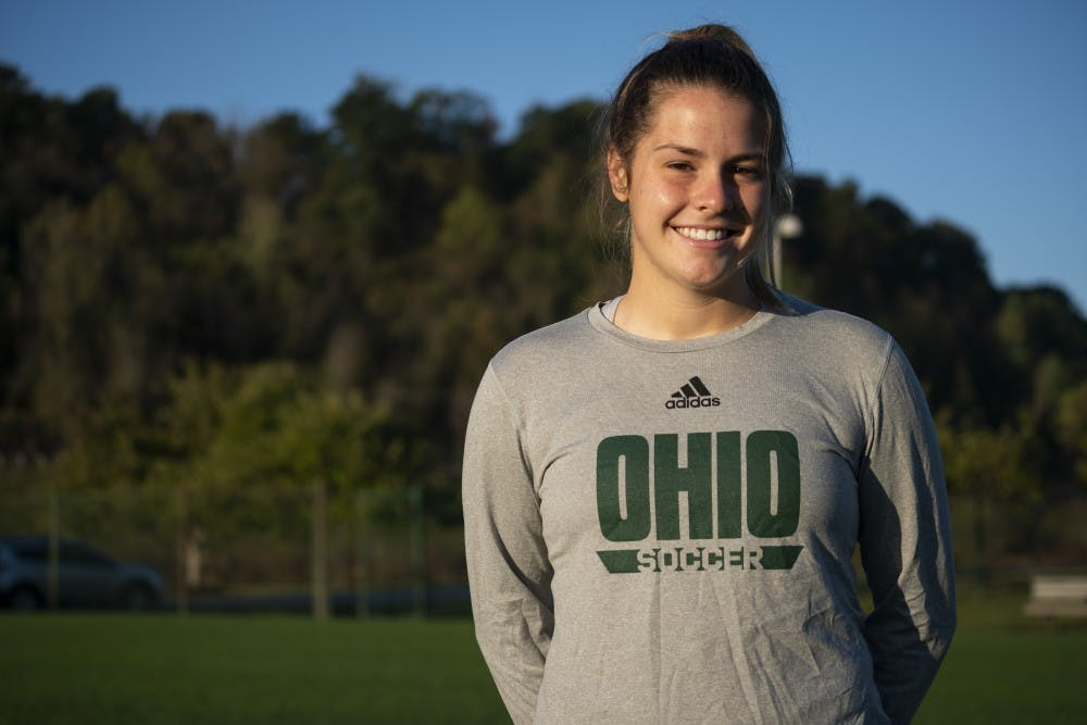 Soccer: Maddie Young has made a spot in Ohio's offensive core