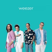 Weezer released its 'Teal Album' of covers Thursday. (via @Weezer on Twitter)
