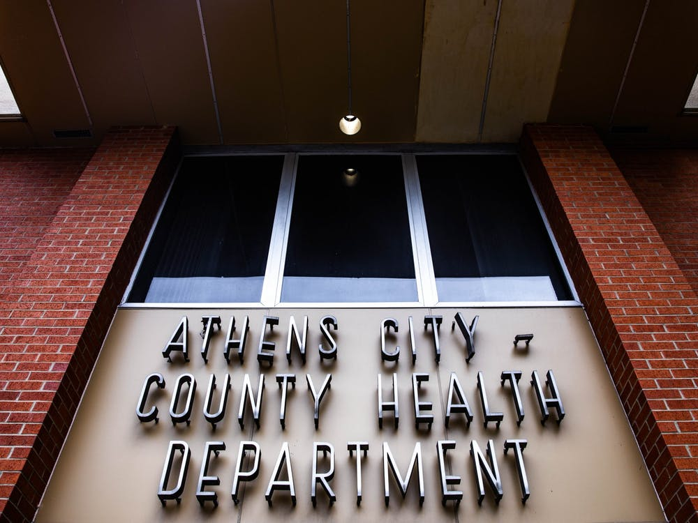 The Athens City-County Health Department on West Union St.