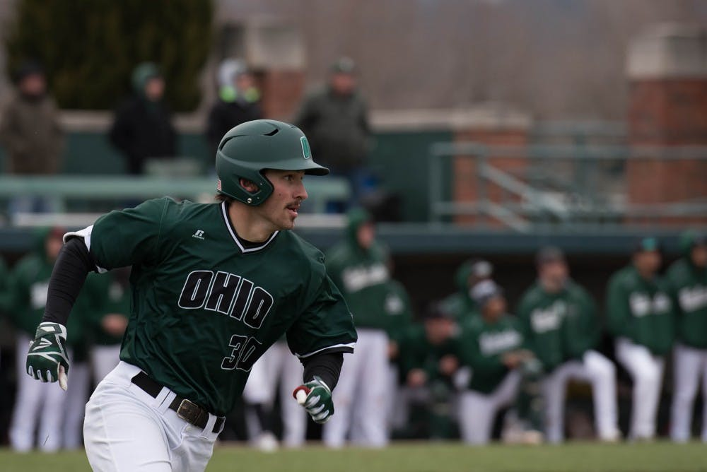 Baseball: Bobcats swept by Central Michigan in weekend series
