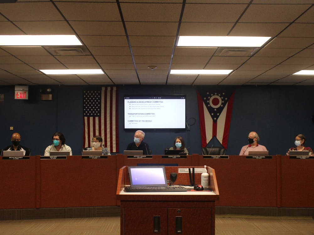 City Council meets together on Monday, Sept. 13, 2021.