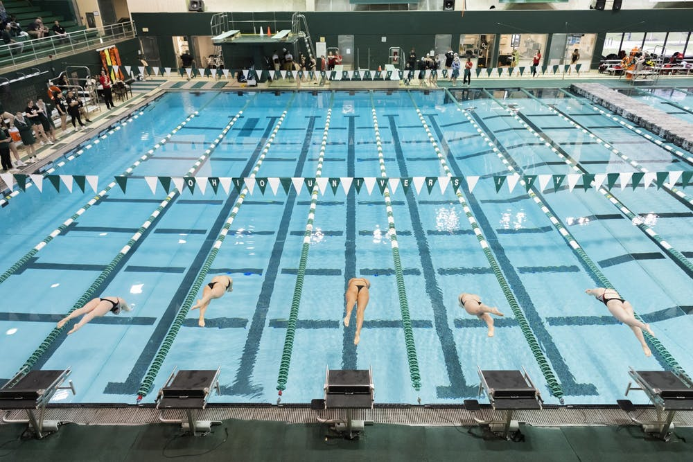 Swimming and Diving: Ohio announces 2020-21 schedule