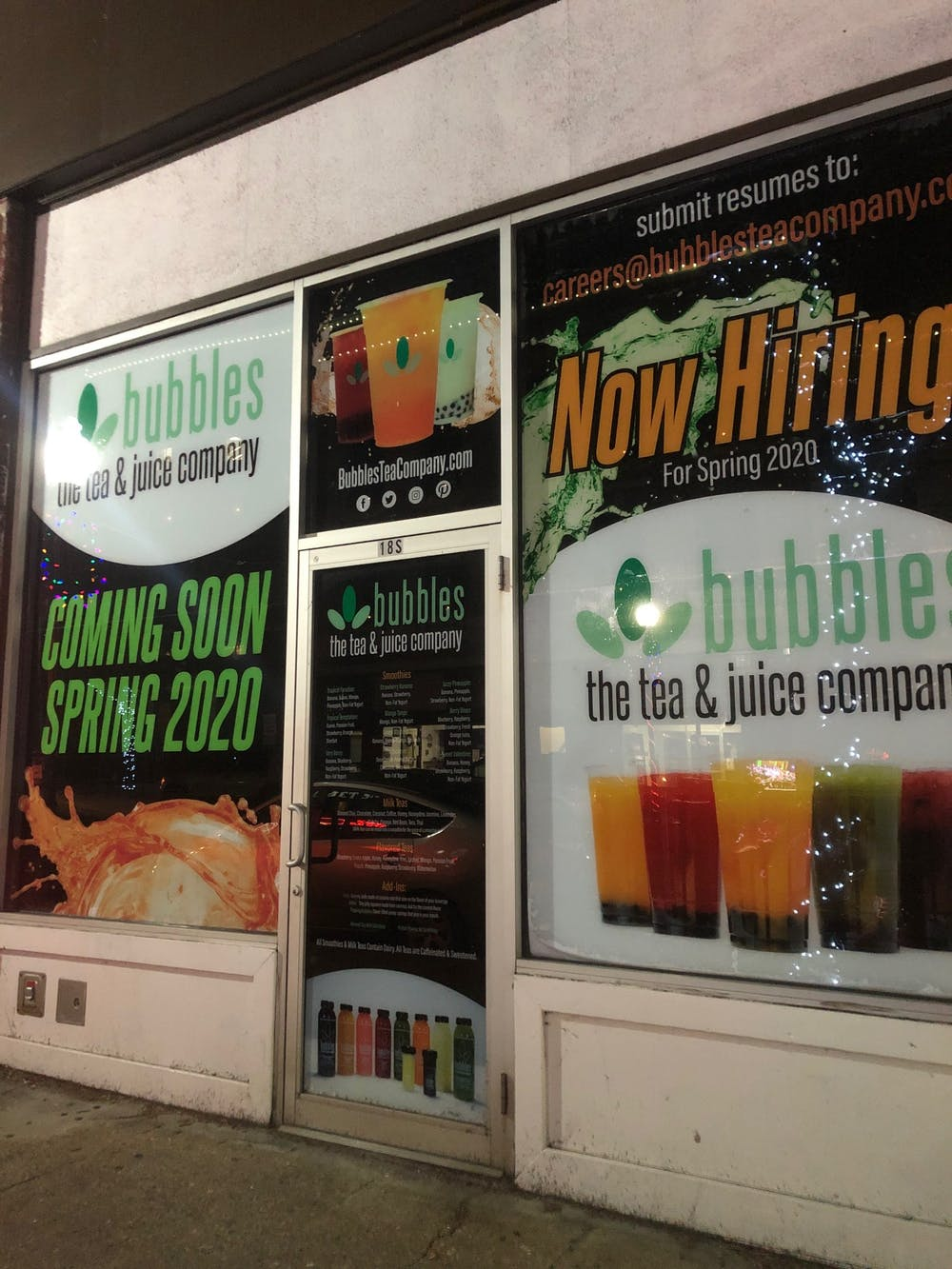Bubbles Tea and Juice Co. to open new location on Court Street