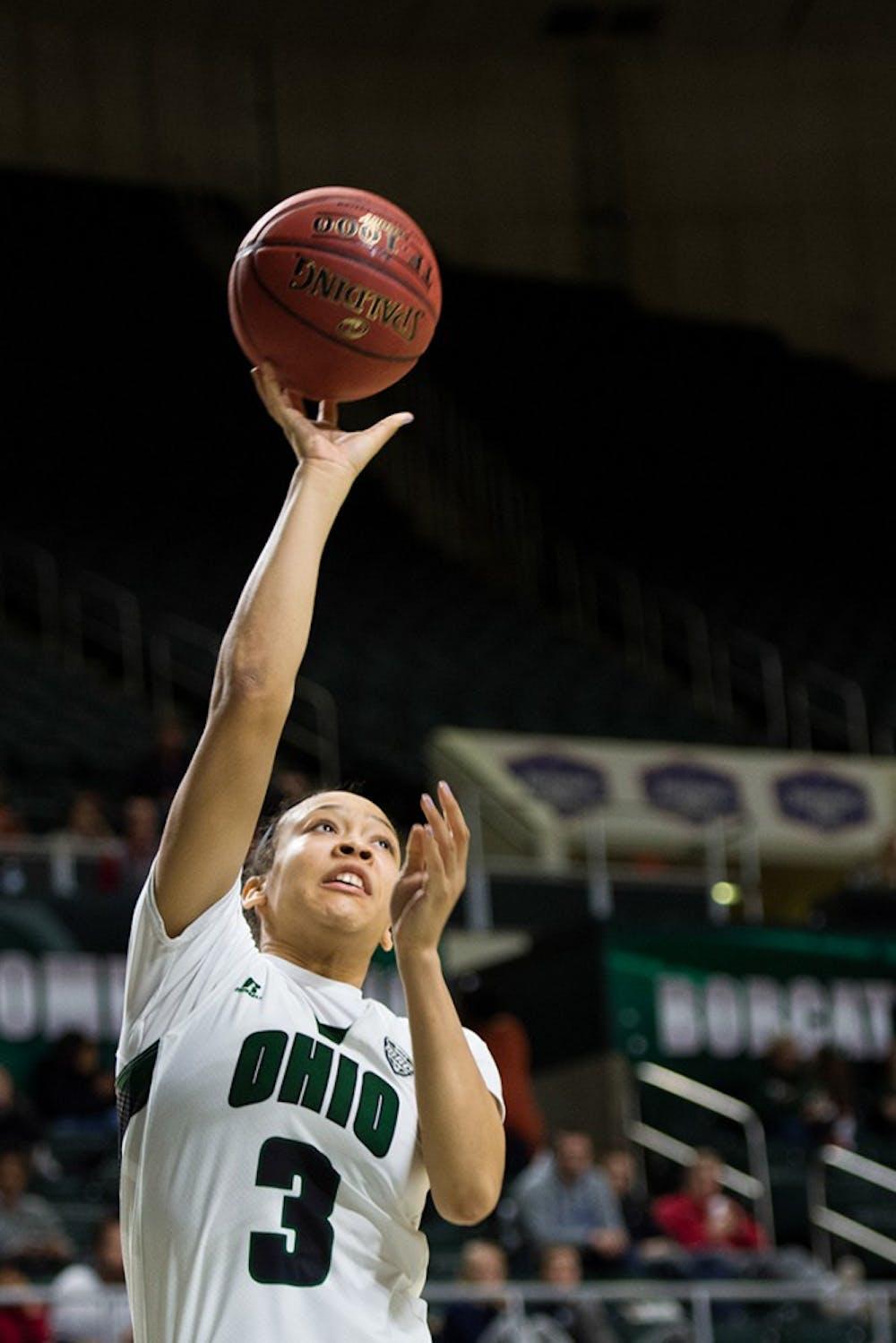 Women's Basketball: Amani Burke scores career-high 21 points, Bobcats snap three-game losing streak