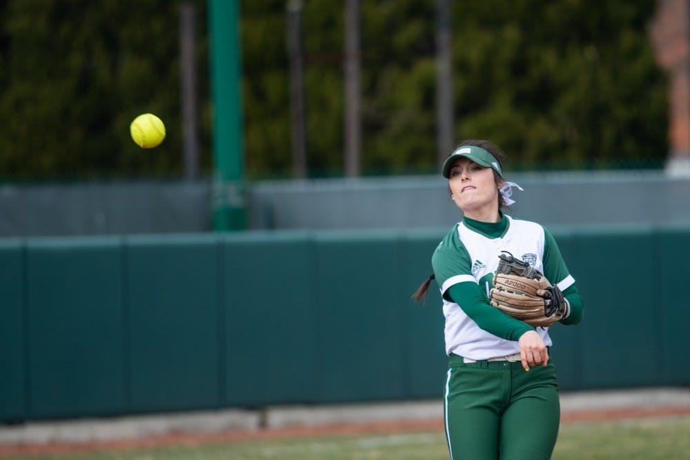 Softball: Katie Yun wins MAC Player of the Week