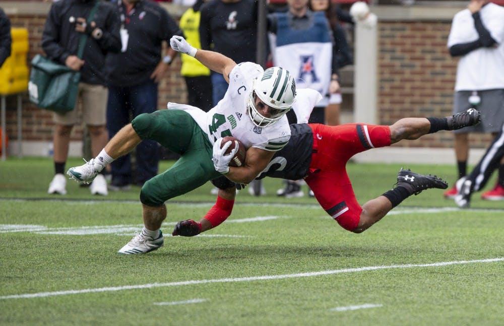 Football: Ohio and Cincinnati's rekindled rivalry has people talking