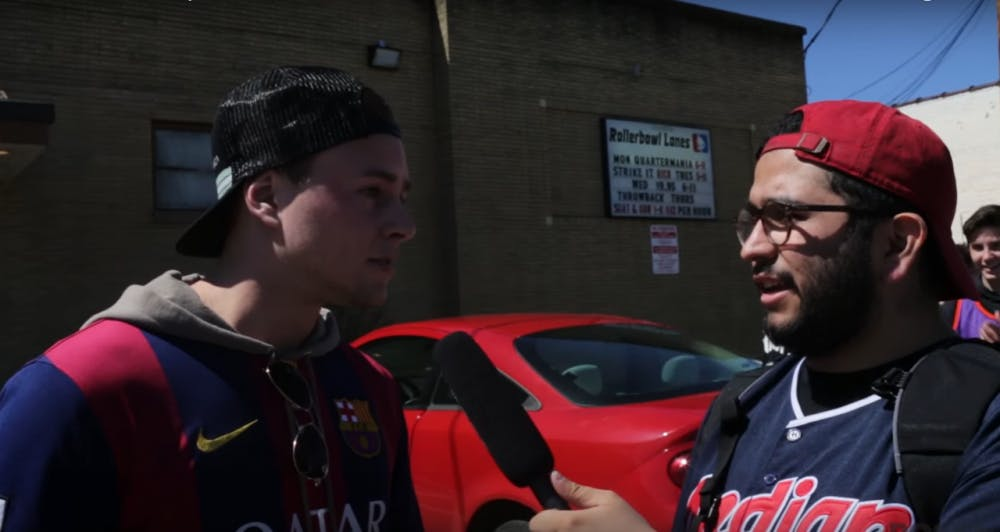 VIDEO: What do jersey-wearing festgoers know about their clothes?