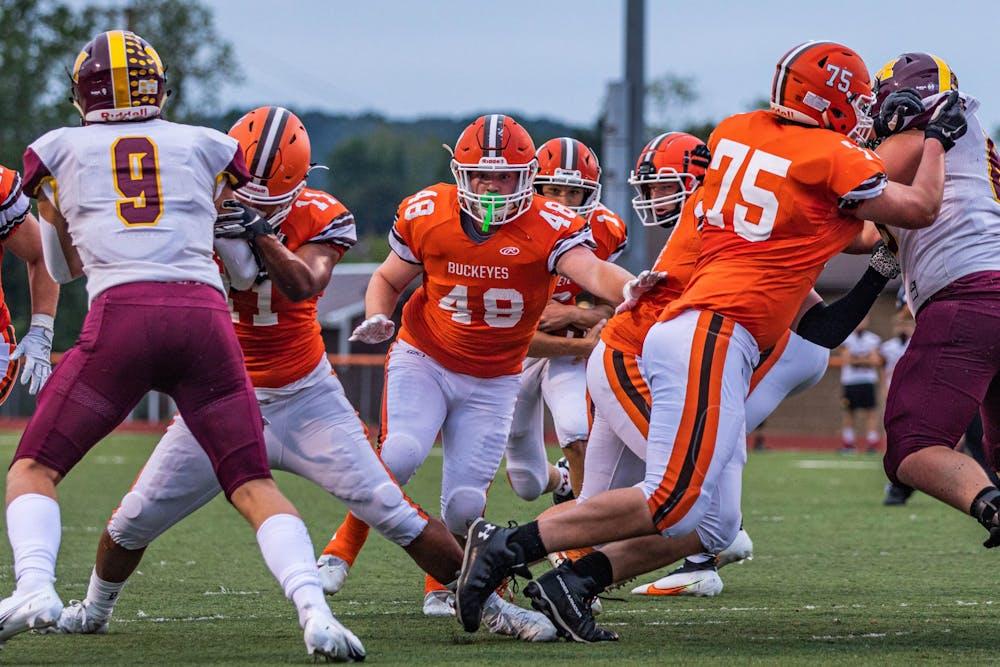 High School Football: Nelsonville-York runs through Meigs for first win of the season