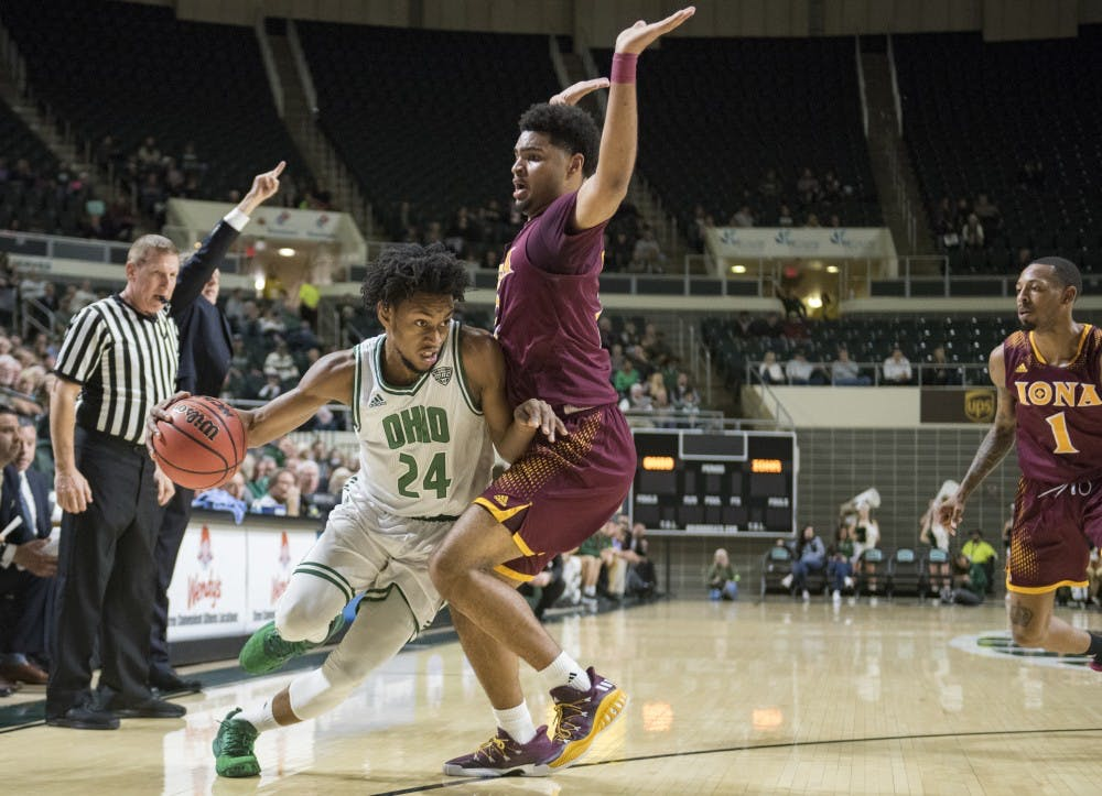 Men's Basketball: Ohio smothered by Maryland defense in 87-62 loss