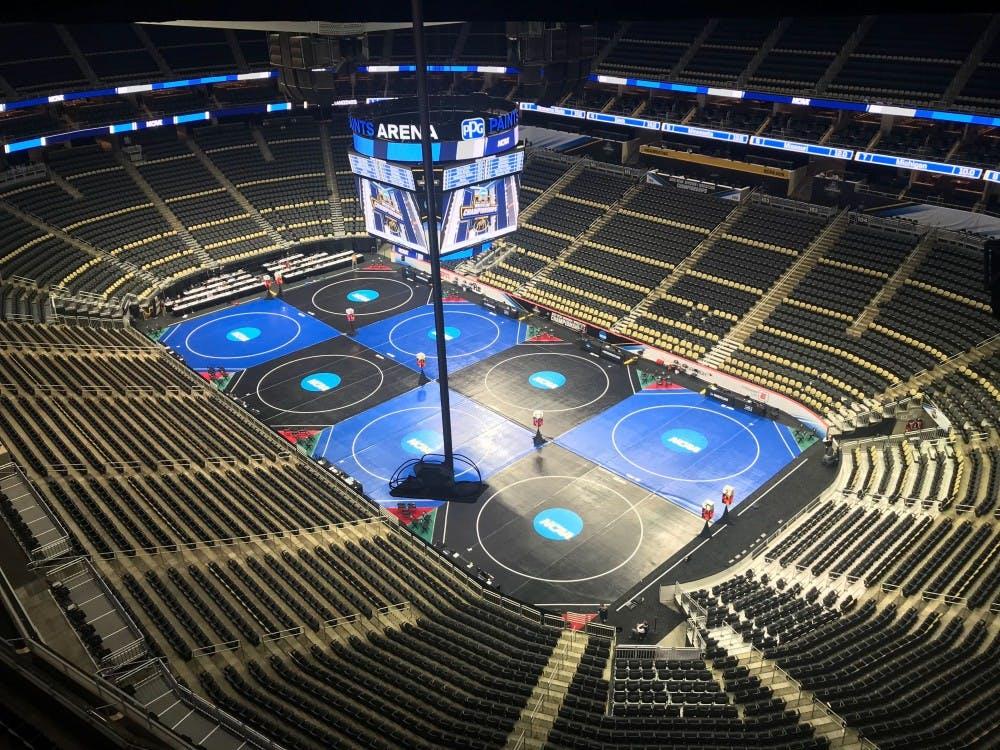 Wrestling: Bobcats unimpressive in session one at National Championships
