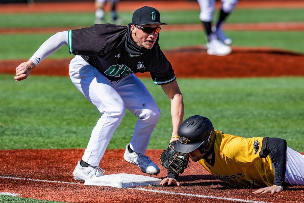 Baseball: Ohio secures series split with Northern Illinois