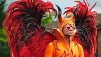 Taron Egerton's performance as Sir Elton John is exquisite in 'Rocketman.' (Photo via @Variety on Twitter)