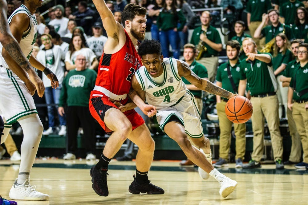 Men's Basketball: Stats that mattered in Ohio's 78-74 win over Ball State