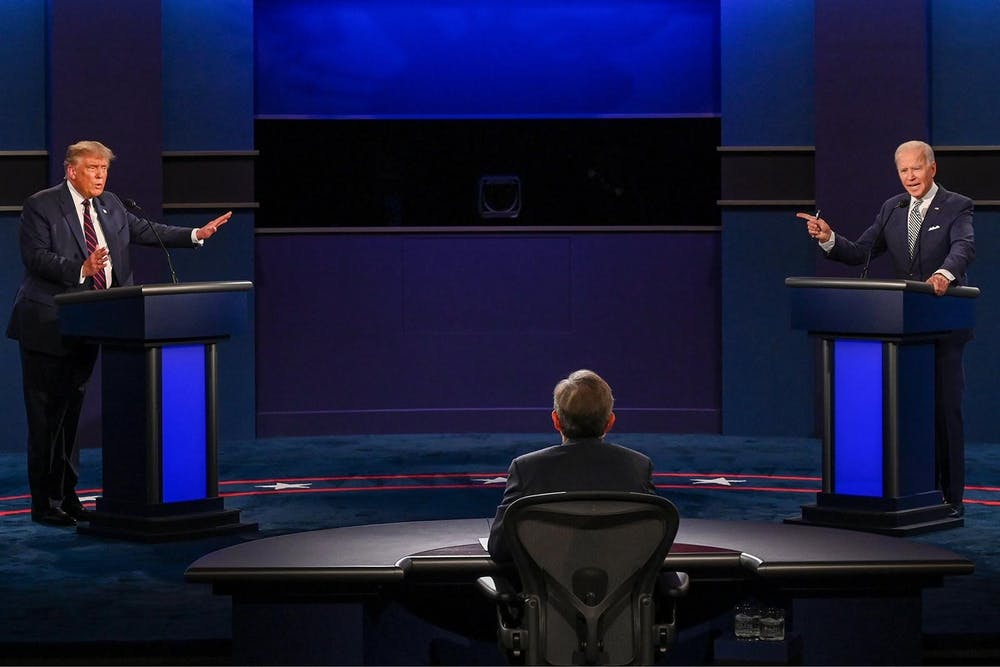 Twitter Reactions: Biden, Trump take center stage in tumultuous first presidential debate