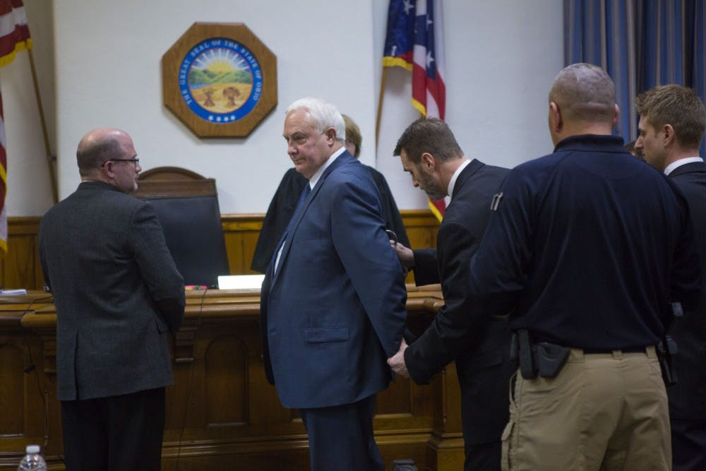 Suspended Sheriff Pat Kelly found guilty on 18 of 25 counts