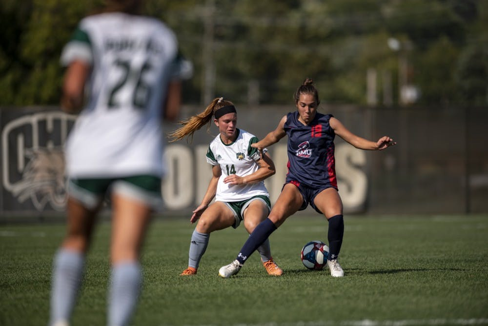 Soccer: Ohio's season ends with a disappointing 5-2 loss to Eastern Michigan
