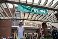 Photo of the first place male in last year's Homecoming 5K Fun Run and Walk. (Provided via Homecoming 5K Fun Run and Walk Facebook page)