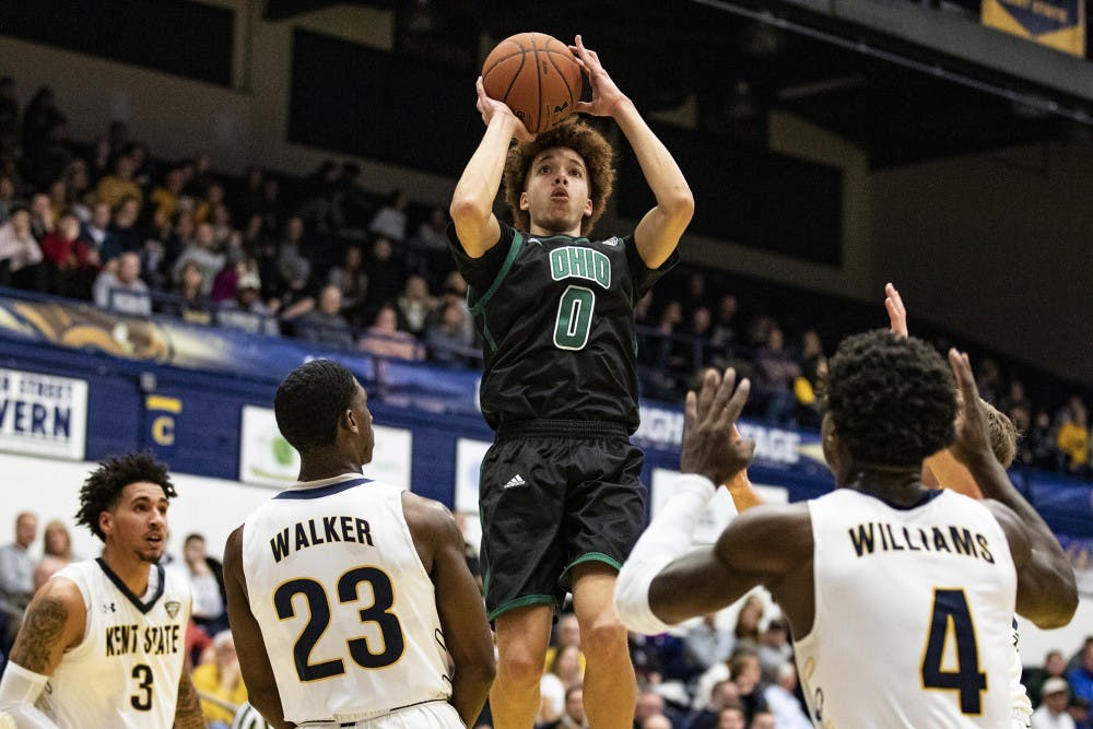 Men's Basketball: Ohio's riding a wave of confidence after win over Akron