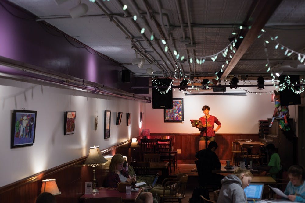Athens provides poets with multiple outlets and opportunities to perform
