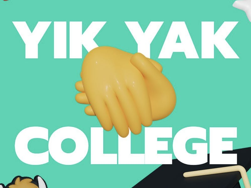 YikYak recently relaunched into the social media scene (Photo provided by @yikyakapp via Instagram).