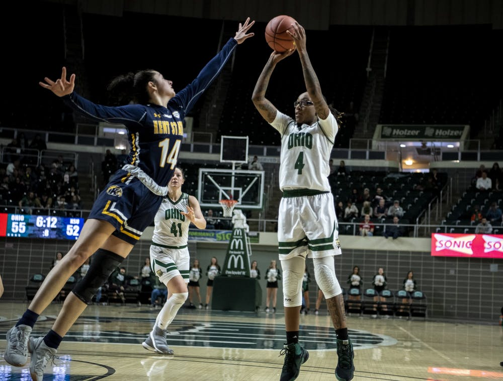 Women's Basketball: Ohio edges past Kent State in 63-57 win