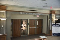 The Multicultural Center is located on the second floor of Baker Center.