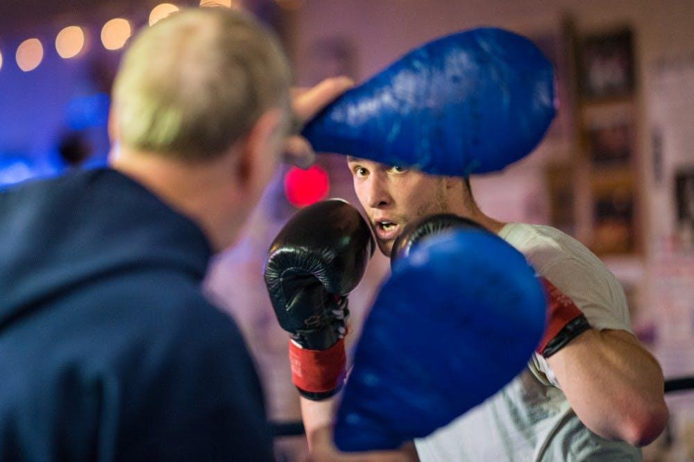 The story of Ben Schlater, the Vinton Elementary School teacher turned pro boxer