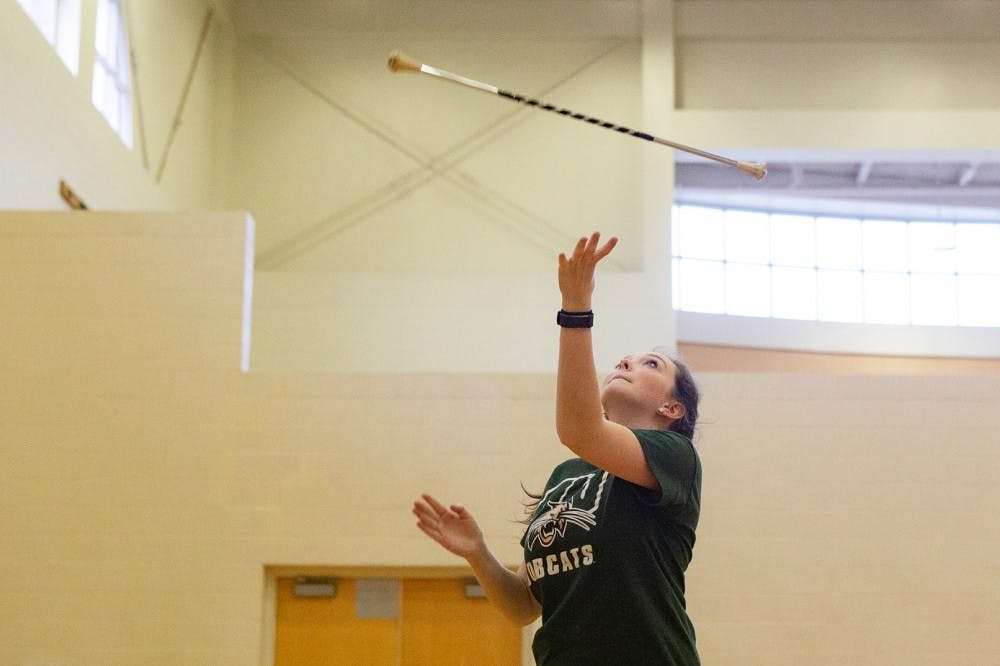 New student organization Bobcat Twirlers want to share passion of twirling with OU