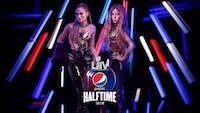 Shakira and Jennifer Lopez will take the stage Sunday, Feb. 2, 2020 for the Super Bowel LIV halftime show. (Photo provided via @pepsi on Twitter)