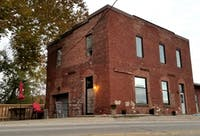 The exterior of Town's End Coffee in Athens, Ohio.
