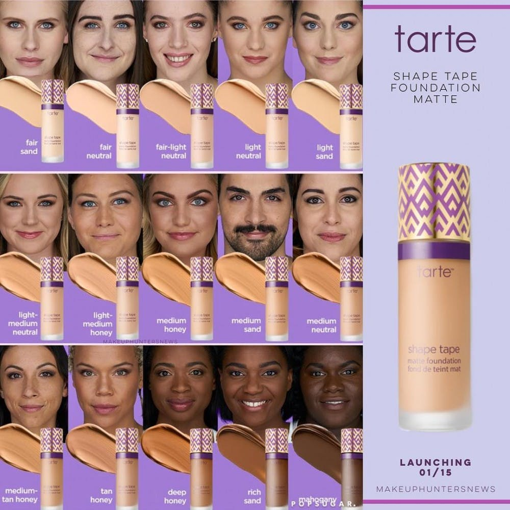 Tarte Shape Tape being criticized for restricted shade range