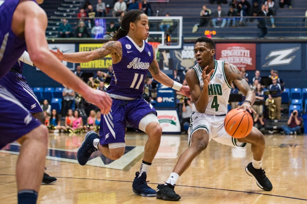 Men's Basketball: Ohio's late comeback falls just short in 71-68 loss