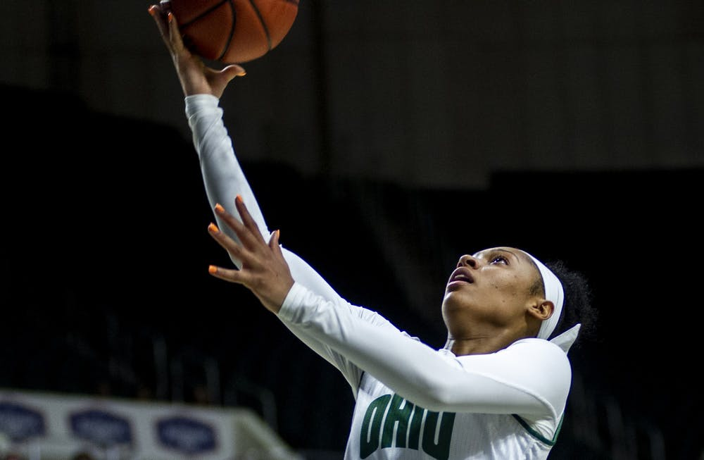 Women's Basketball: Cece Hooks overcomes rough start in win over Kent State