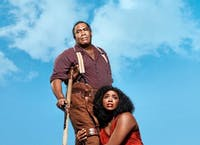 Eric Owens and Angel Blue in the titular roles starring in The Gershwins' Porgy and Bess. (Provided via Alex Kamody)