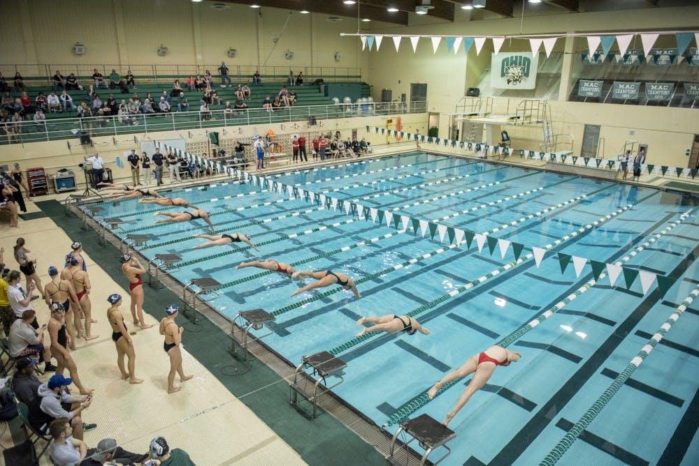 Swimming & Diving: Ohio puts on impressive show but falls to rival Miami