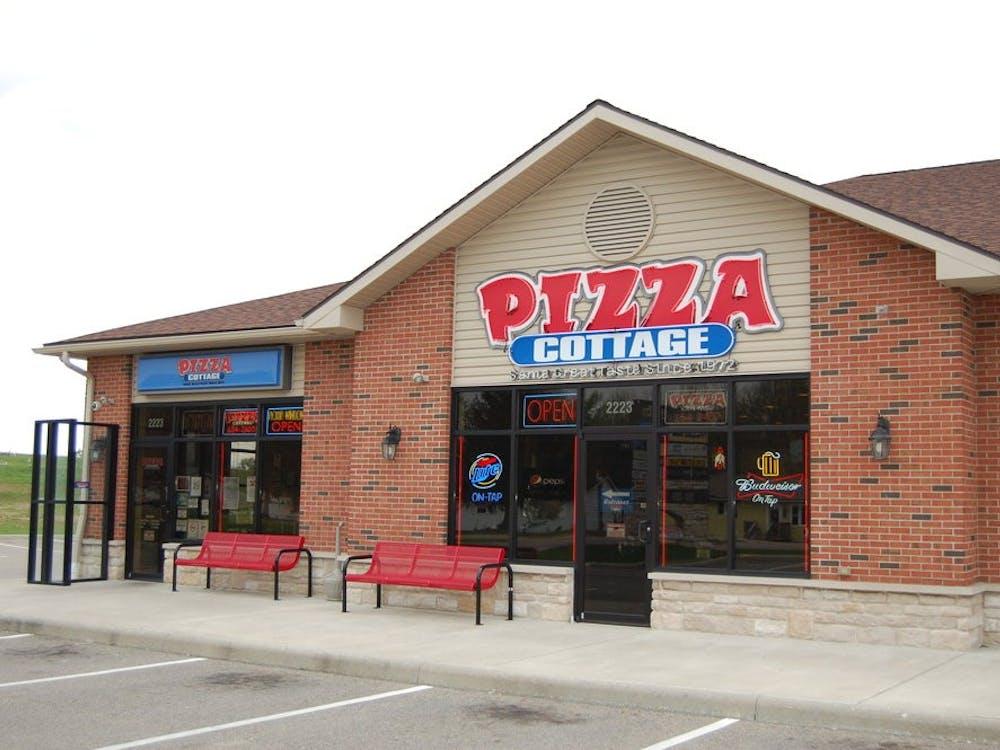 Photo provided via Pizza Cottage website.