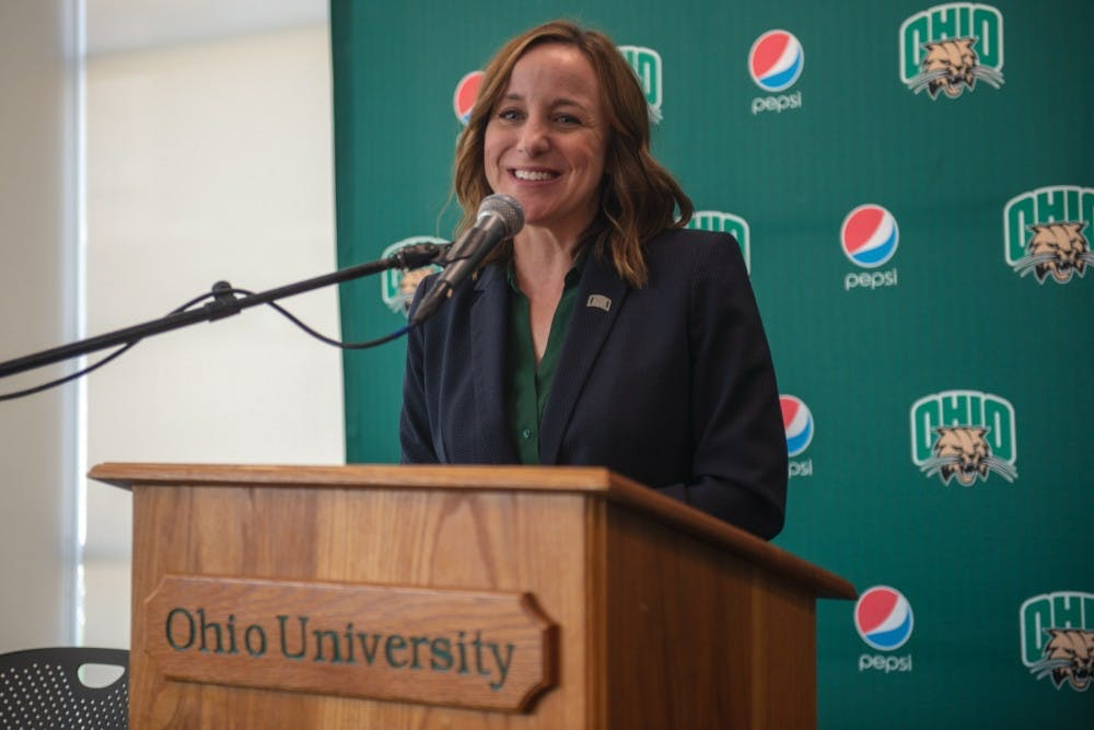 Following up with Julie Cromer after her first month as athletic director