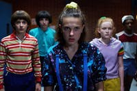 Season three of 'Stranger Things' is available to stream now on Netflix. (Photo via @sepinwall on Twitter)
