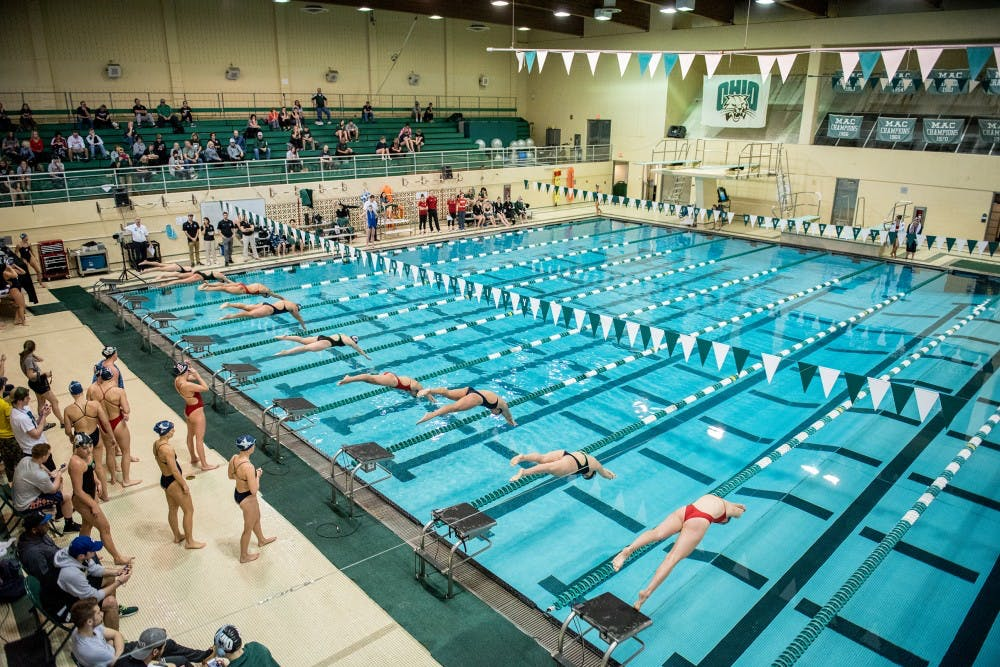Swim And Dive Ohio Drops Only One Event In Its Two Weekend Wins Over Duquesne And Xavier The Post